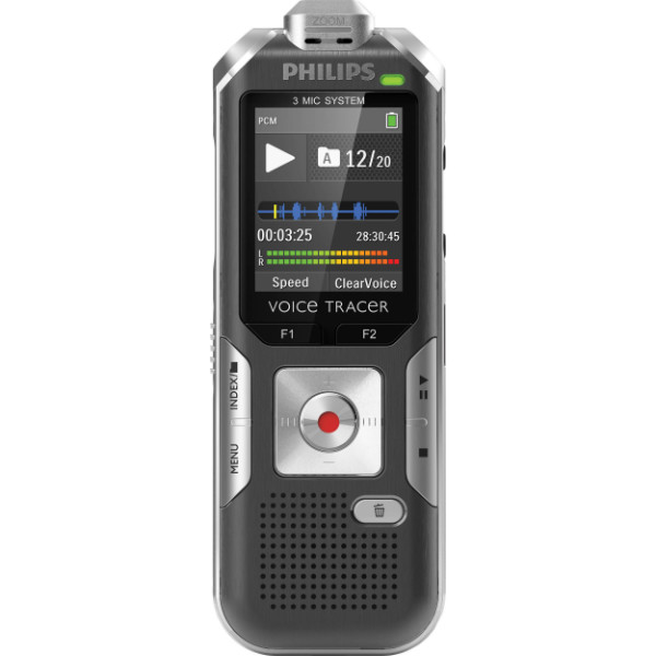 Philips DVT6000 – Voice Tracer Digital Recorder – Lecture and Interview Recording