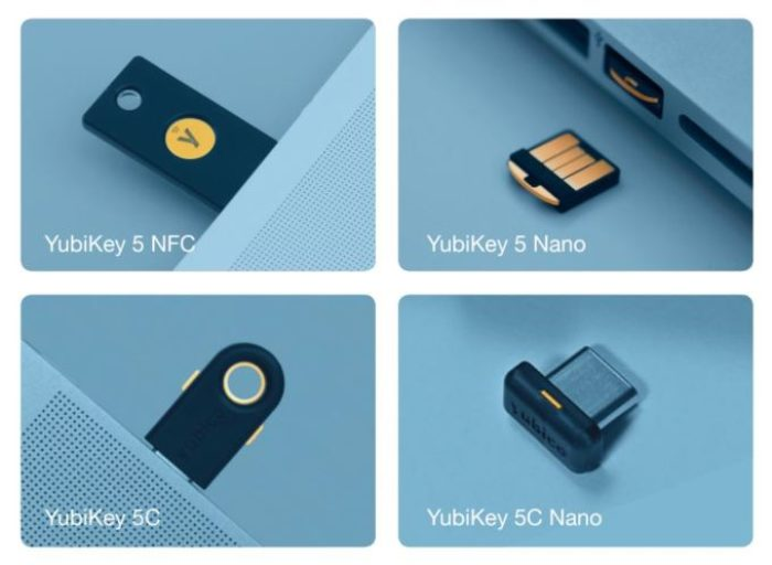 YubiKey 5 Security Keys